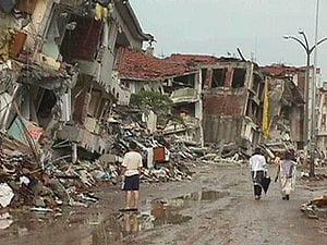 Σεισμός στη Τουρκία – Ιζμίτ 1999