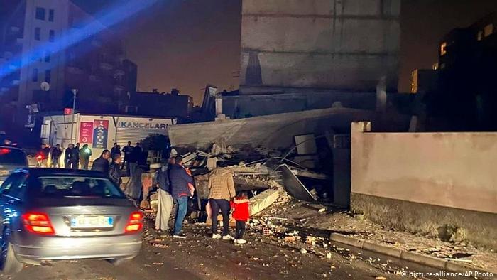 Σεισμός στην Αλβανία – Ιανουάριος 2020
