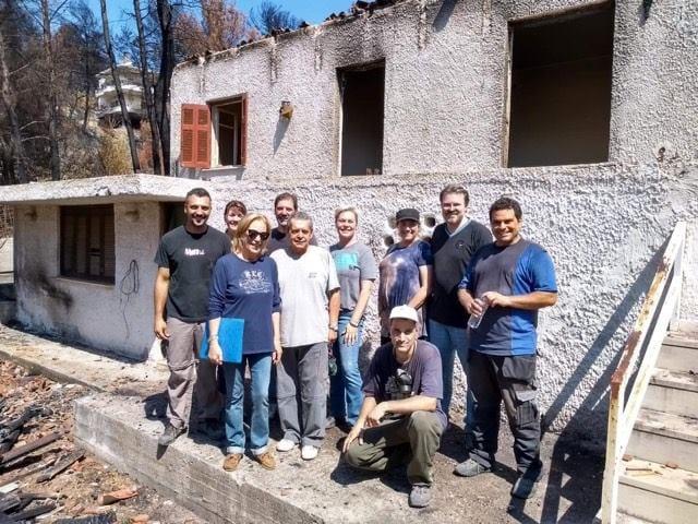 Βοήθεια της Ευαγγελικής Κοινότητας στους πυρόπληκτους στη Ραφήνα Αττικής – 10 Σεπτεμβρίου 2020